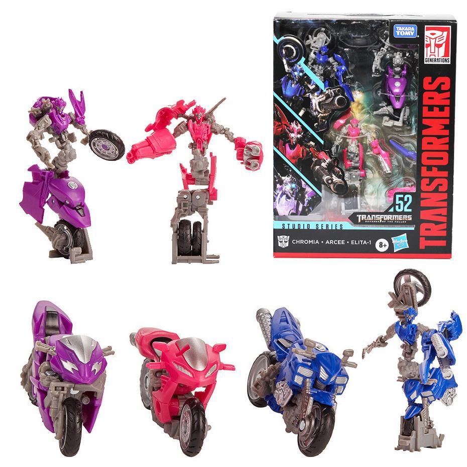 Transformers Studio Series 51 la vendetta del caduto Arcee Chromia Elita 1 Hasbro