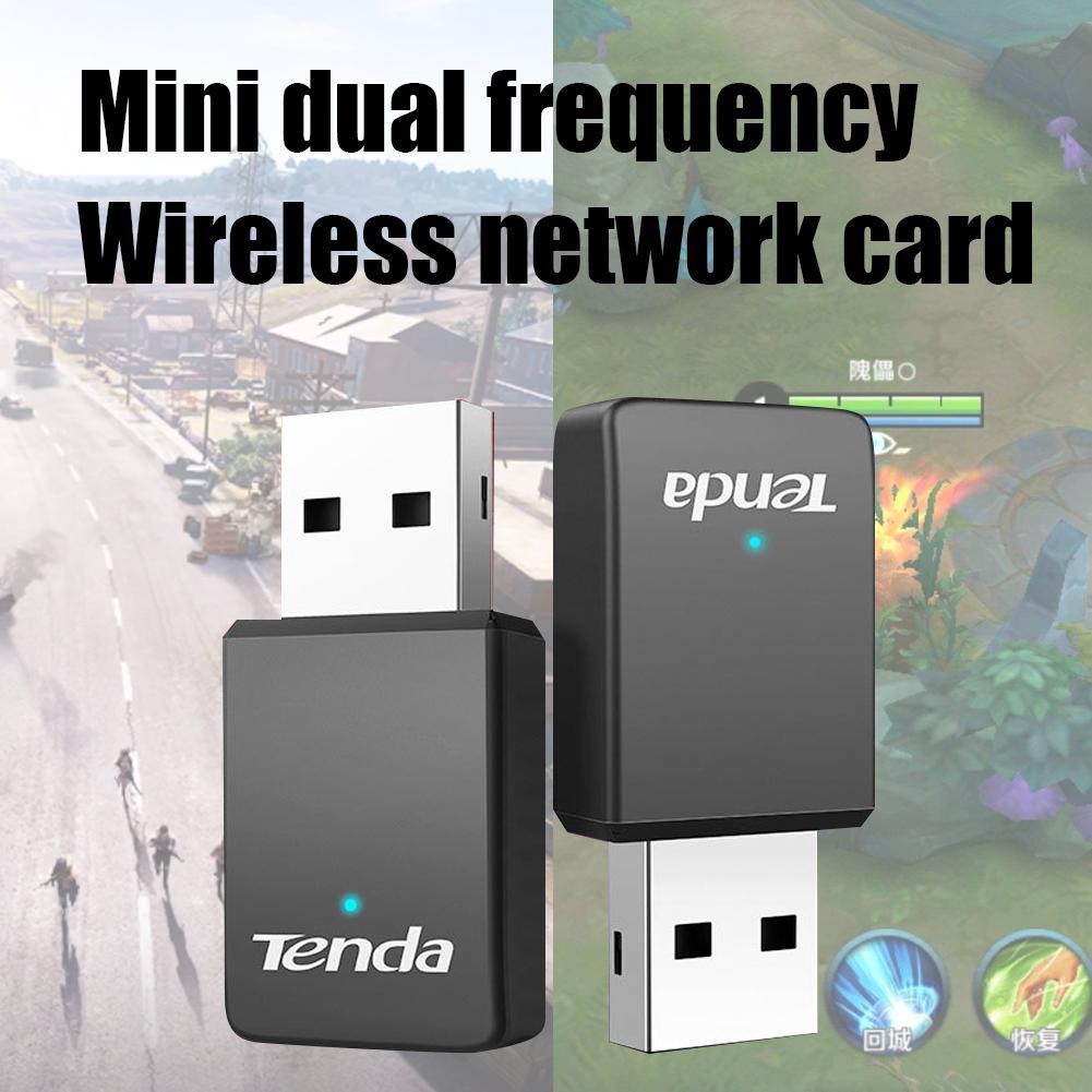 Tenda U9 2,4 GHz/5GHz 650Mbps adaptador USB inalámbrico WiFi de doble banda  receptor de tarjeta de red Ethernet para ordenador portátil de escritorio|  | - AliExpress