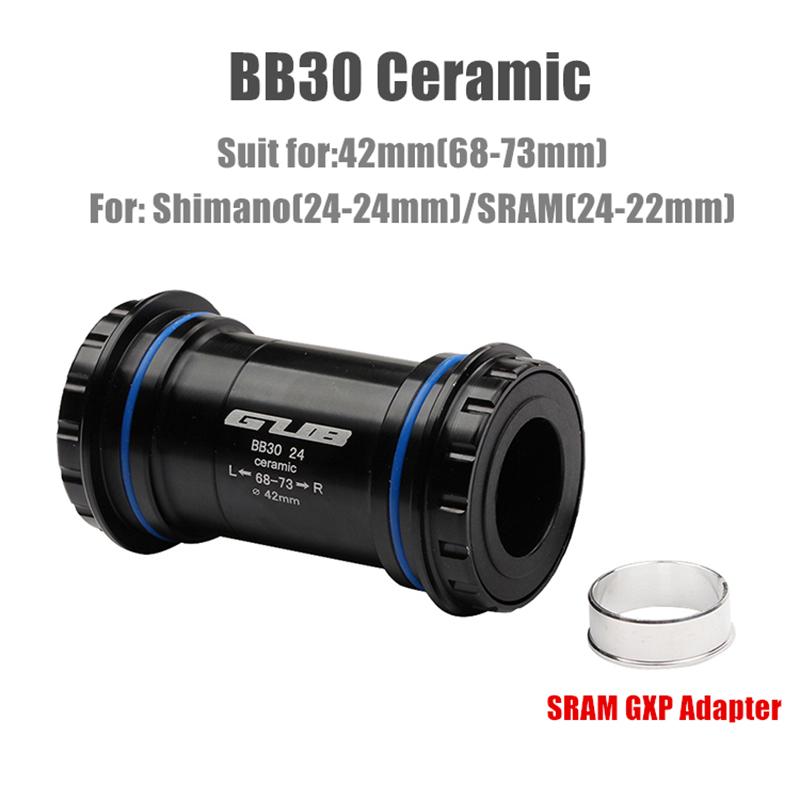 Sram GXP or 30mm cranks CyclingCeramic BB386 EVO for 24mm Shimano