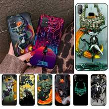 Чехол для телефона CUTEWANAN The Legend of Zelda Midna, чехол для Samsung A10 A20 A30 A40 A50 A70 A80 A71 A91 A51 A6 A8 2018(Китай)