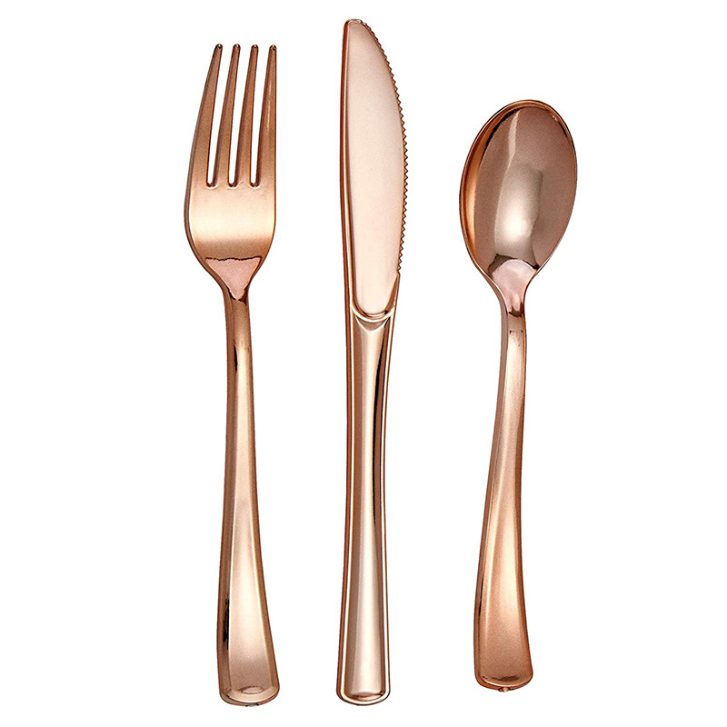 50, Forks The Kitchen Collection Heavy Weight Gold Deluxe Cutlery Partyware