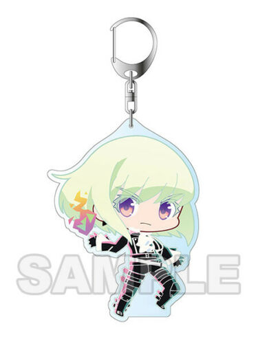 Cosmile Promare YAOI Doujinshi ( Galo x Lio ) Fotia Thymos Aina Keychain Keyring Strap limited cosplay Gift