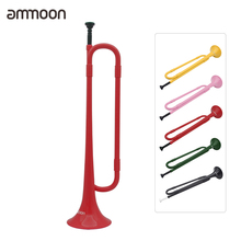 Trumpet Mouthpiece Band Bugle Ammoon Plastic Student Flat with for School Cavalry