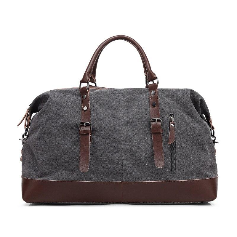 2020 travel bag luggage bag Leisure Canvas Bag Single Shoulder Handbag dual purpose messenger travel bag