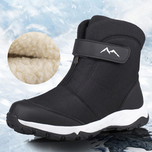 Winter Boots Cotton Shoes High-Top Warm Outdoor Plus Water-Resistant Men Northeast Couple