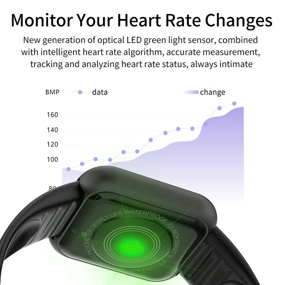 Camera - Smart Watch Waterproof Smartwatch For Android IOS Smart Watch Kids Men Women Heart Rate Monitor Blood Pressure Watch