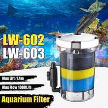 Bucket-Suction-Pump AQUARIUM-FILTER External 220V LW-603 Ultra-Quiet 15W IPX8