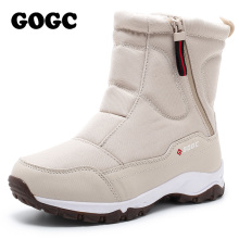 GOGC Winter Boots Shoes Ankle for Women G9906