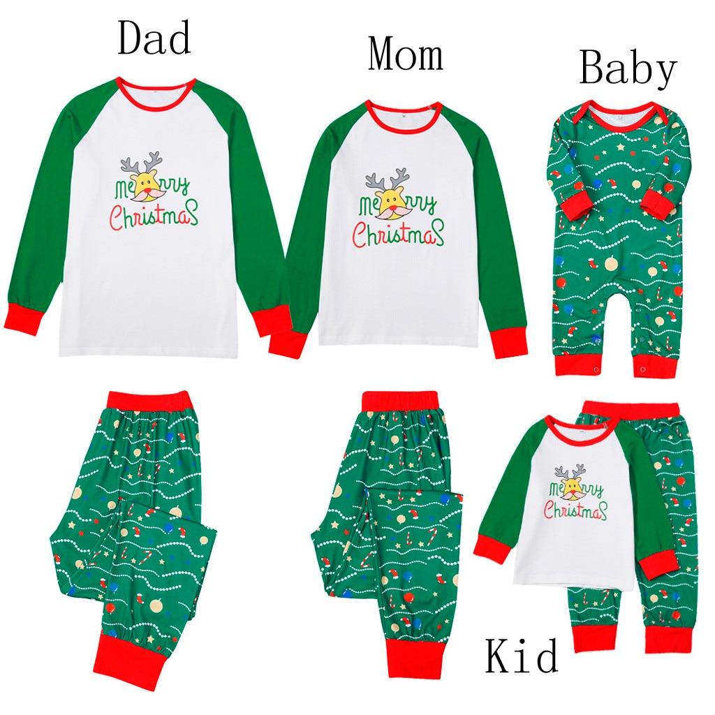 Personalised Names First Christmas Glitter Pyjamas Baby Gifts Pjs Xmas 2019