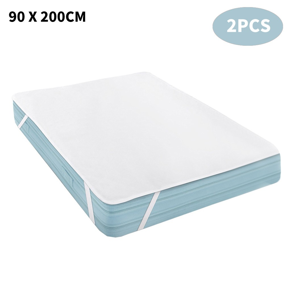 best selling 2020 products Waterproof Mattress Protector Mattress Pad Pillow Cover 90 x 200 cm 2PCS support dropshipping