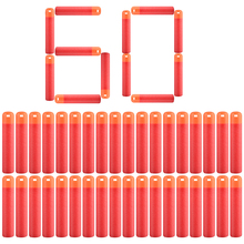 60Pcs/Lot 9.5cm Red Sniper Rifle Darts Bullets for Nerf Mega Kids Toy Foam Refill Darts