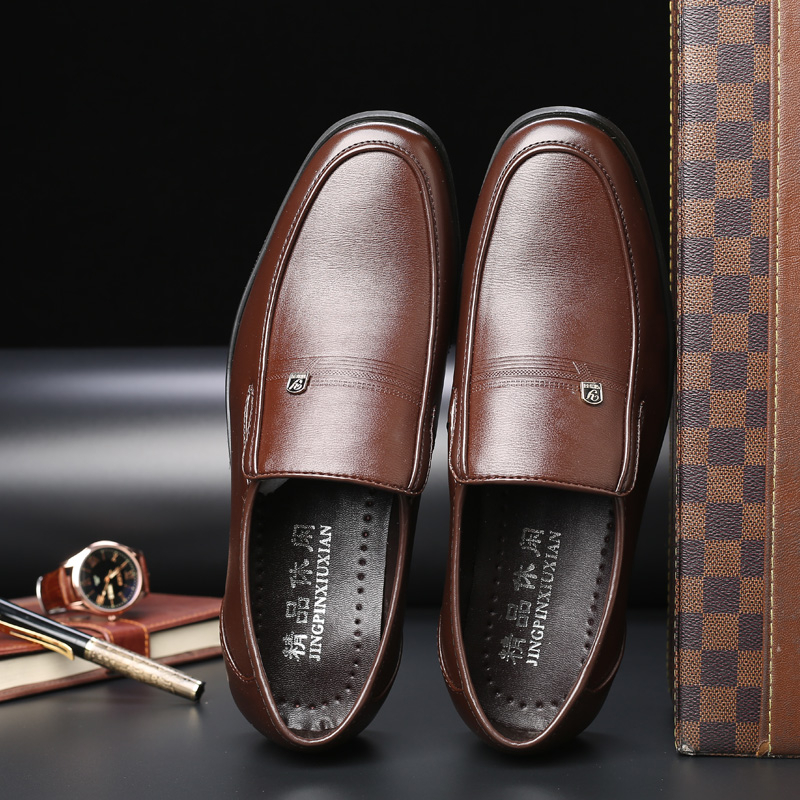 High Quality Men's Leather Shoes Autumn New Formal Shoes Men Big Size Dress Shoes Black Oxford Shoes For Men Zapatos De Hombre