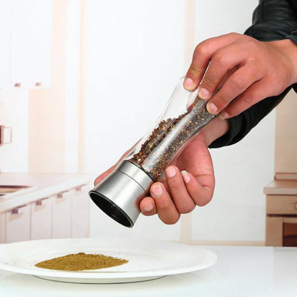 Manuel Moulin /À /Épices Main Multifonctions De Cuisine Moulin Accessoires Moulin /À /Épices De Cuisine Outil Darachide Ail Noix De Muscade Poivre