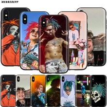 Чехол Webbedepp MORGENSHTERN Rapper для Apple iPhone 11 Pro XS Max XR X 8 7 6 6S Plus 5 5S SE(Китай)