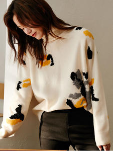 SLoose Pullovers Knit...