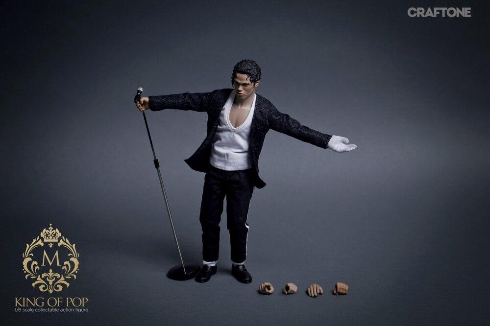 CRAFTONE 1//6 Superstar Figure Michael Jackson Billie Jean Action Model Set  012