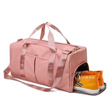 Gym-Bags Shoe-Compartment Travel Sport Women Yoga for with Wet-Pocket Femal Outdoor New