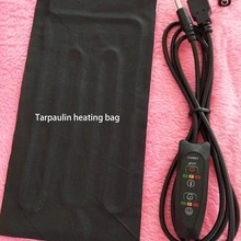 Heating-Pad Heated-Clothes Carbon-Fibre Belly-Warmth Back-Neck Shoulders USB 5V