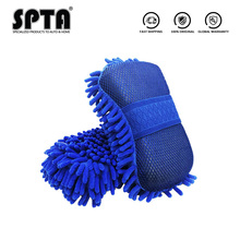 Sponge Wash-Mitt Microfiber Car-Wash Cleaning Chenille SPTA Automobile Soft Premium Ultra