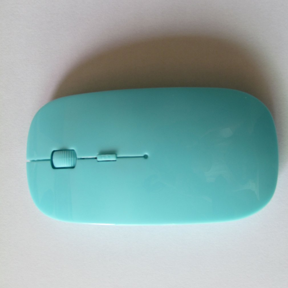 Portable Mini Mouse USB Optical Wireless Computer Mouse 2.4G Receiver Super Slim Mouse title=