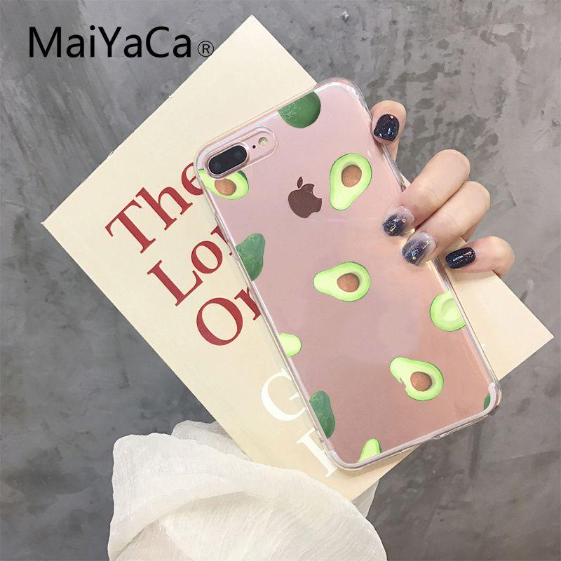 Cartoon cute avocado