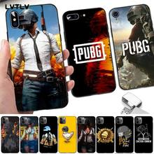 LVTLV pubg DIY Luxury Phone Case for iPhone 8 7 6 6S Plus X 5 5S SE 2020 XR 11 pro XS