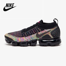 Breathable Sneakers Running-Shoes FLYKNIT Sport Air-Vapormax Women's Original Nike Outdoor