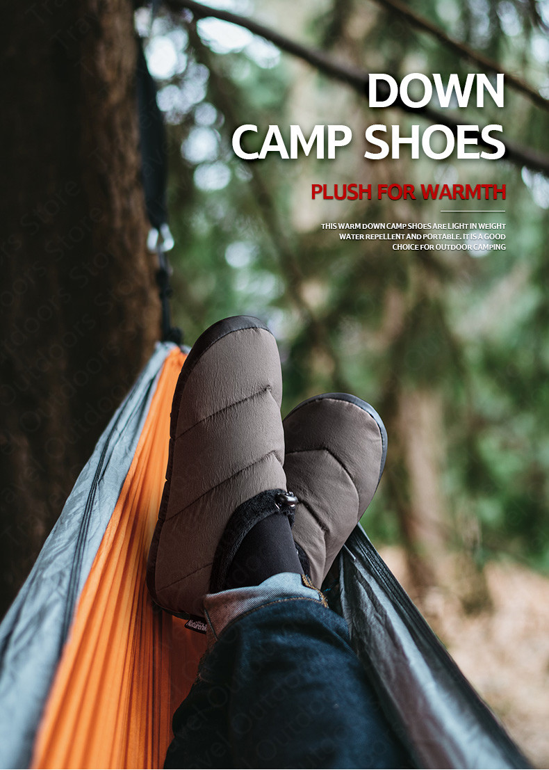 Details about  /Shoes Camping Outdoor 1 pair Duck down Footwear Feet Cover Warm Thermal