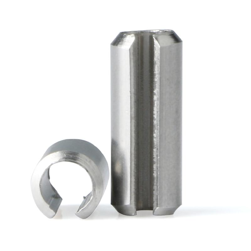 M3 3mm 304 Stainless Steel Spring Tension Pins Split Dowel Sellock Roll Pins