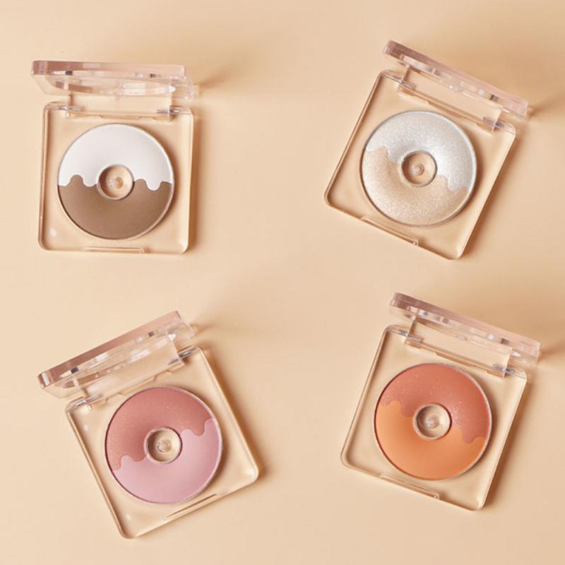 Donut Highlighter Makeup Palette