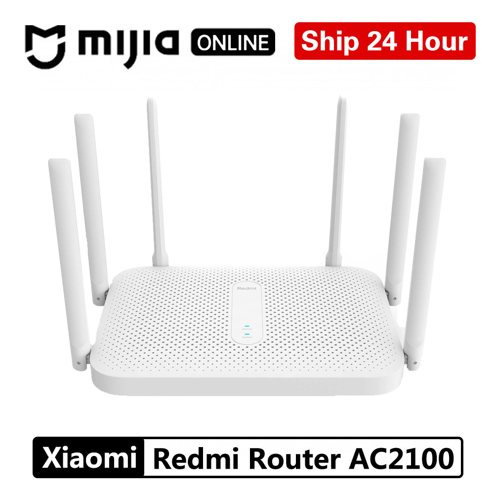Xiaomi Wireless Wifi Repeater Antennas Redmi Router Dual-Band Ac2100-Gigabit 2033mbps title=