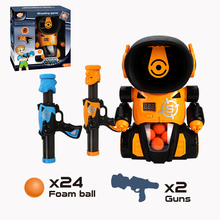Toys Shooting-Toys Bullet-Gun Score-Target-Robot Foam-Ball Electronic-Game Kids Soft