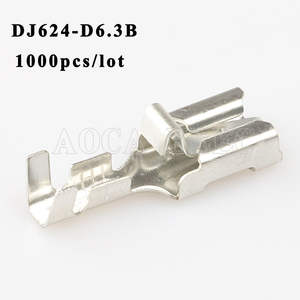 50 PCS Connector Plug Spring BX2141C-3 Automotive Instrument Plug Spring Fuse Box Terminal Fuse Terminal
