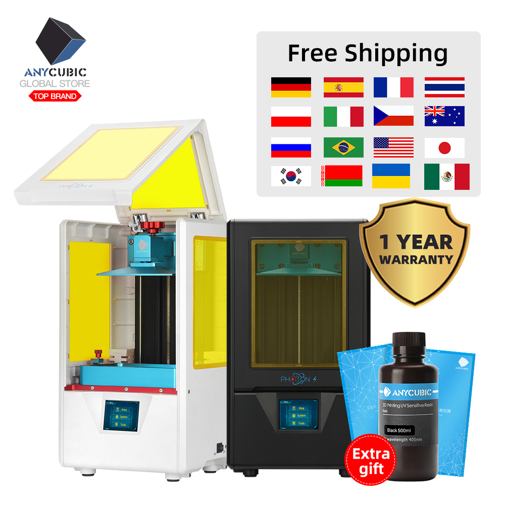 Anycubic 3d-Printer Upgraded Dental-Jewerly Photon-S Uv Resin Desktop-Impresora Slicer title=