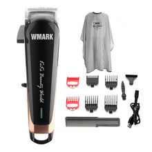 Hair-Cutter Professional Cordless Adjustable WMARK NG-103 Length 6500-7000-Rpm