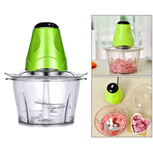 Chopper Electric Food-Processor Garlic Vegetable-Nuts Meat Mini Food Chili 4-Detachable-Blades