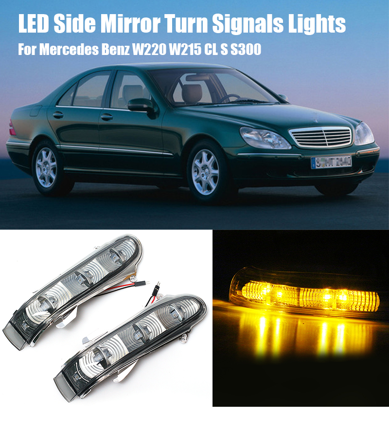 Genuine Mercedes Benz W215 W164 W251 W220 Taillight Bulb Socket White NEW