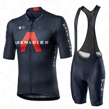 Cycling Jersey Set Men Team Clothing Ineos Grenadier 2020 Competizione Short Sleeve Suit Training Breathable Light Race Uniform