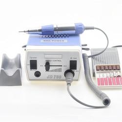 Электрическая дрель для ногтей 35 Вт 35000 об/мин, набор инструментов для маникюра и педикюра, полировщик для ногтей, шлифовальный остекленный ...