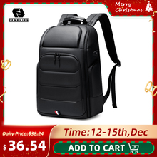 Travel Backpack Laptop Usb-Charging Fenruien Anti-Theft School-Bag Men Fit High-Capacity