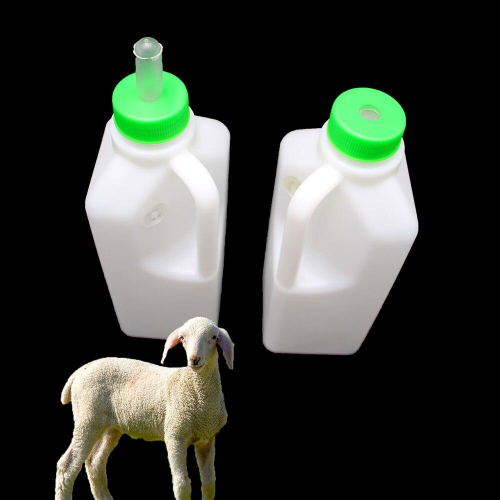 Lamb Milk Bottle 1.5L Milk Feeder Nursing Rubber Nipple Calf Baby Piglet Lamb US