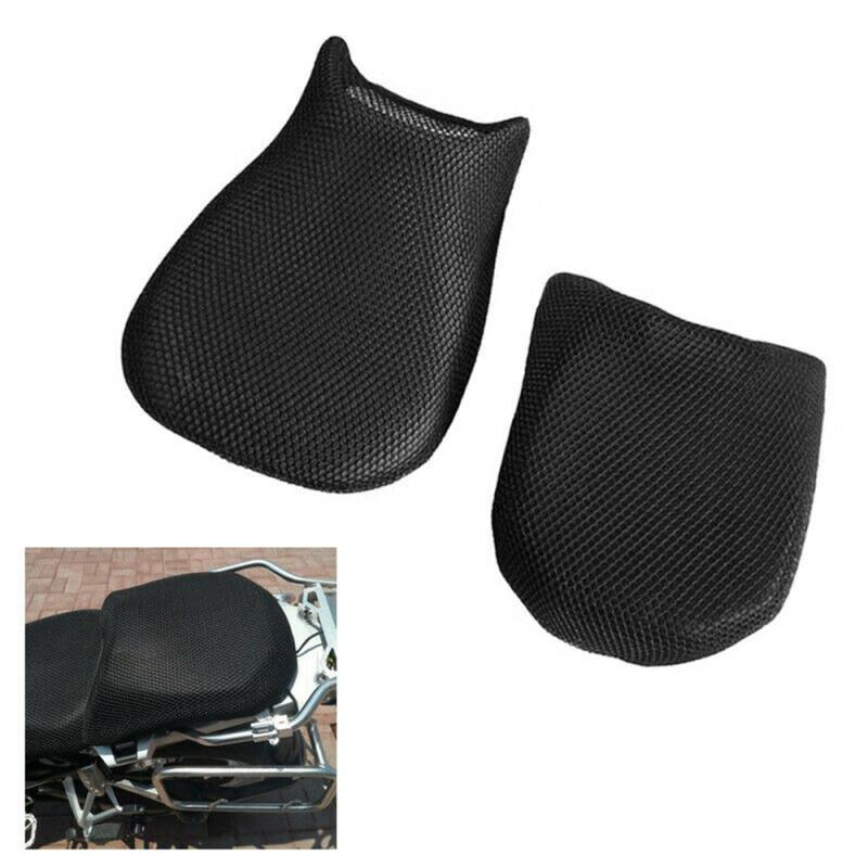 Cover-Net Motorcycle-Seat Cooling Mesh Cusion 3D for BMW 2pcs Fit-Set Sun-Proof R1200GS title=