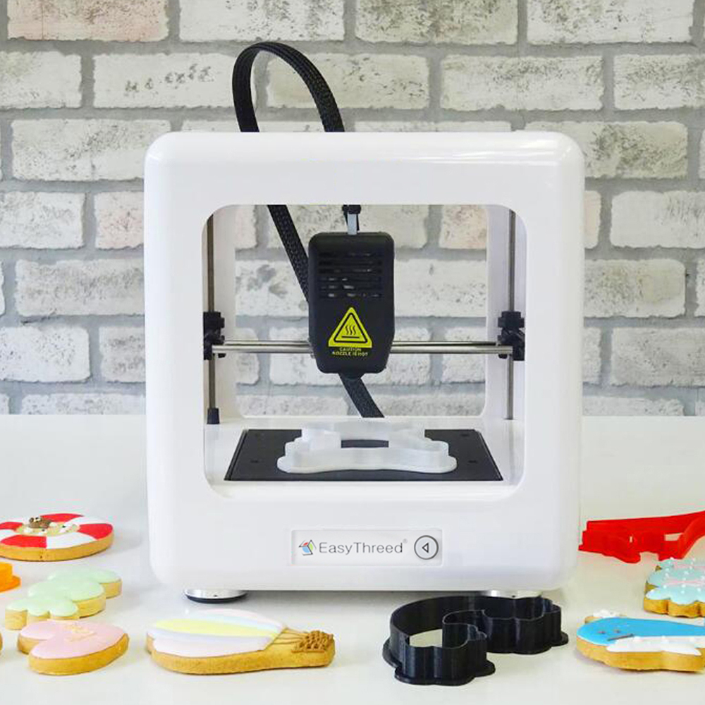 Easythreed 3d-Machine Printer Mini Impresora Household for Child Christmas-Gift Diy-Kit title=