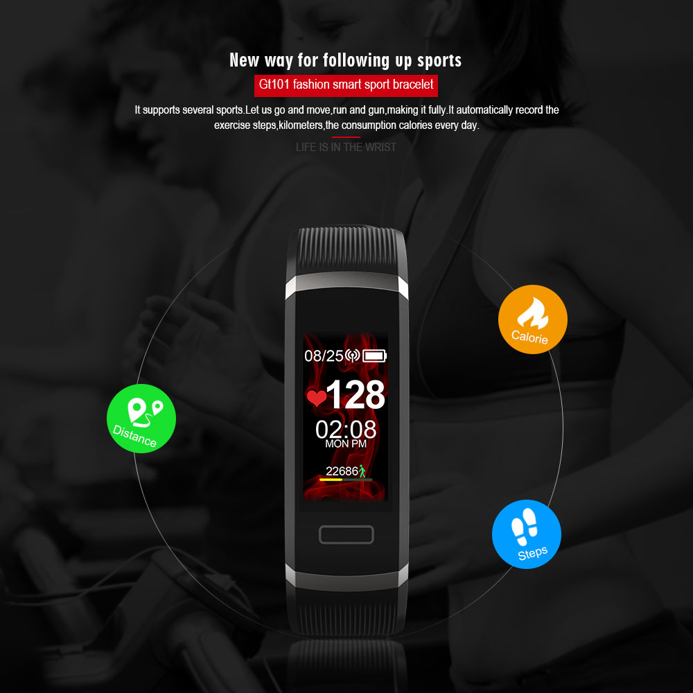 GT101-Smart-Bracelet-Color-Screen-Multi-Language-Message-Push-Continuous-Heart-Rate-Monitor-Fitness-Tracker (2)
