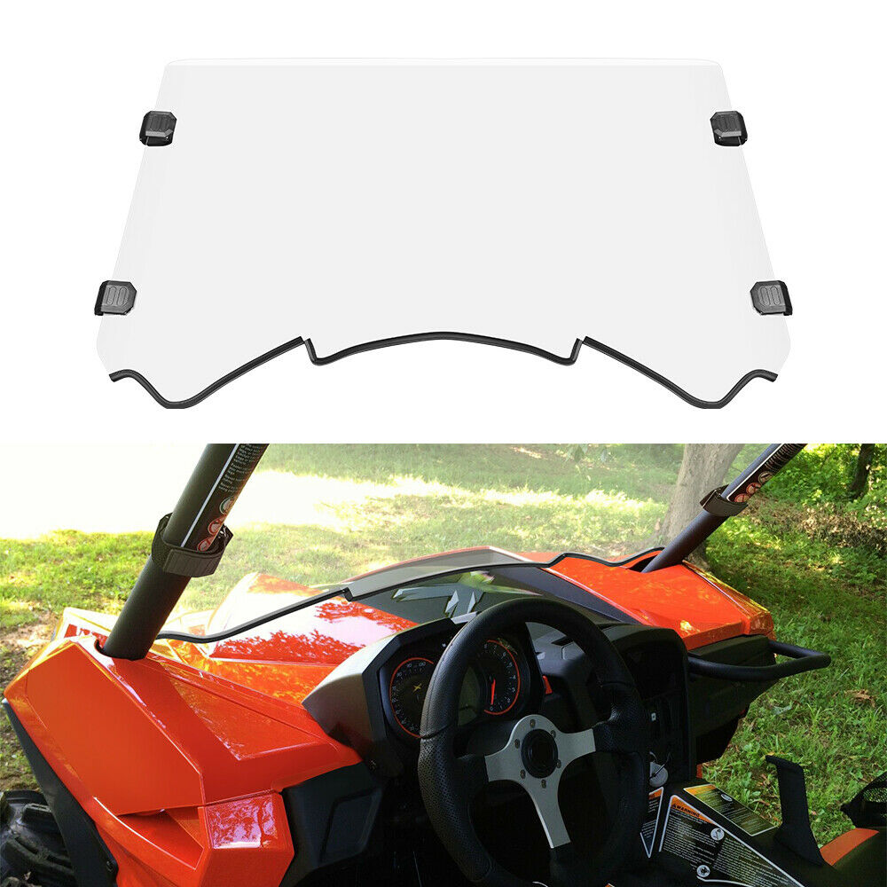 """CAN AM COMMANDER MAVERICK WINDSHIELD 2/"""" HARDWARE SET 4 CLAMPS ROLL CAGE MOUNT"""