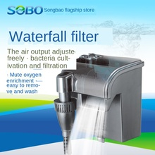 Pump WATERFALL-FILTER MUTE-FILTER-EQUIPMENT Aquarium Three-In-One Fish-Tank External-Hanging