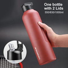 Water-Bottle Vacuum-Flask Stainless-Steel Travel Sports Drinking with New Straw-Direct