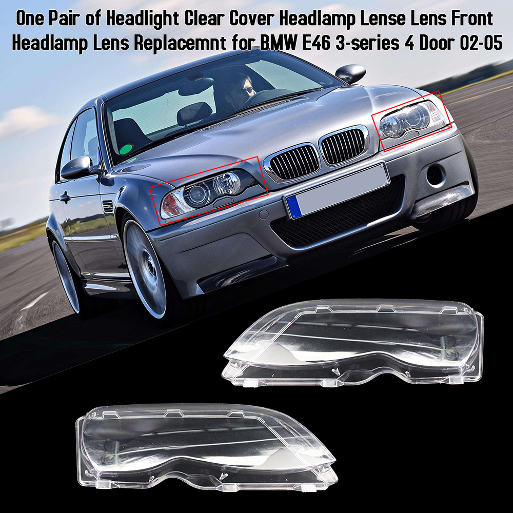 E46 M3 CLEAR LED INDICATORS FOR BMW E46 3 SERIES COUPE CONVERTIBLE 02-05