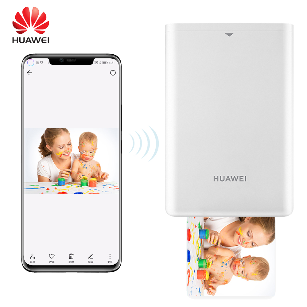 HUAWEI Photo-Printer Inkless-Printing ZINK Portable DIY AR BT 313--490 title=