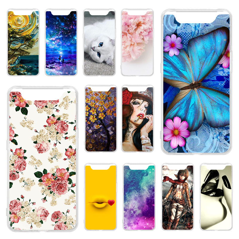 TPU Phone Cases For Samsung A50 A60 A80 A70 Case Soft Silicone Painted Bumper For Samsung Galaxy A50 A60 A70 A80 Cover Fundas